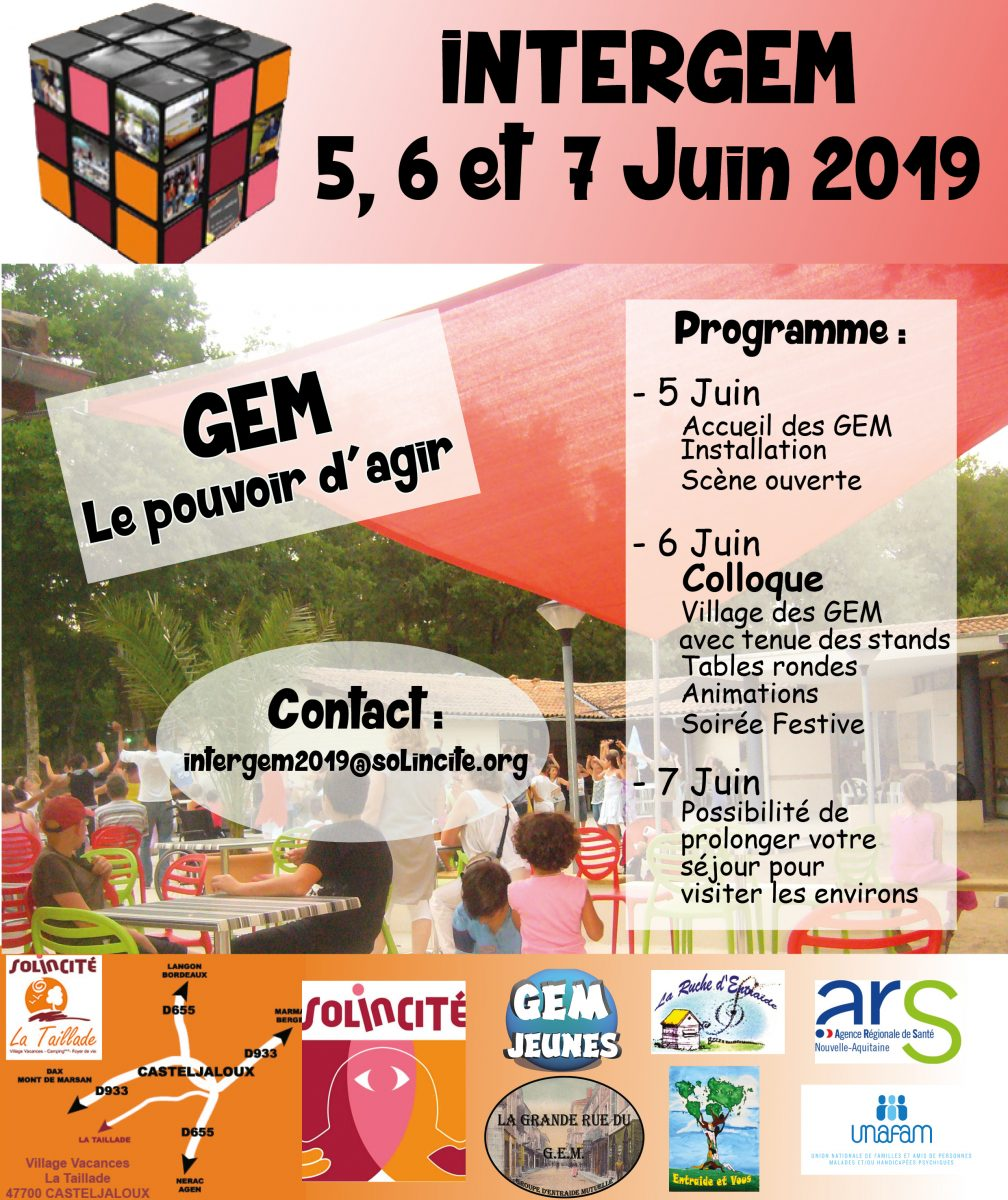 INTERGEM 2019 «GEM Le Pouvoir d'Agir»