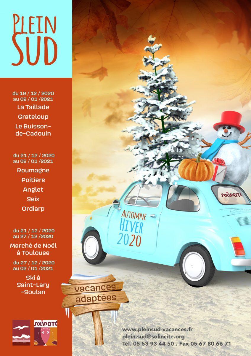 Plein Sud Solincite vous présente les séjours d'hiver 2020-2021 !