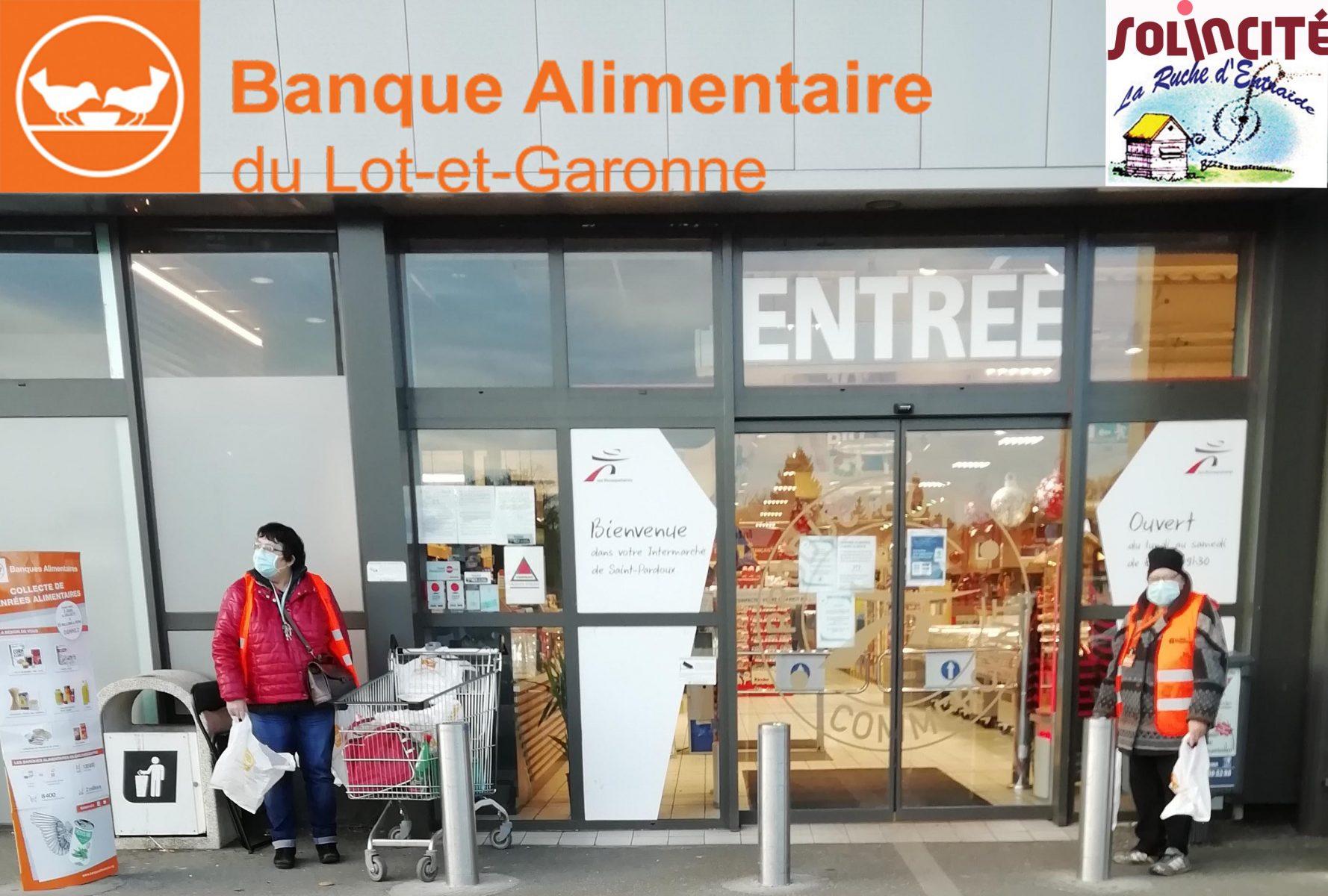 Le GEM de Miramont de Guyenne en partenariat avec la Banque Alimentaire