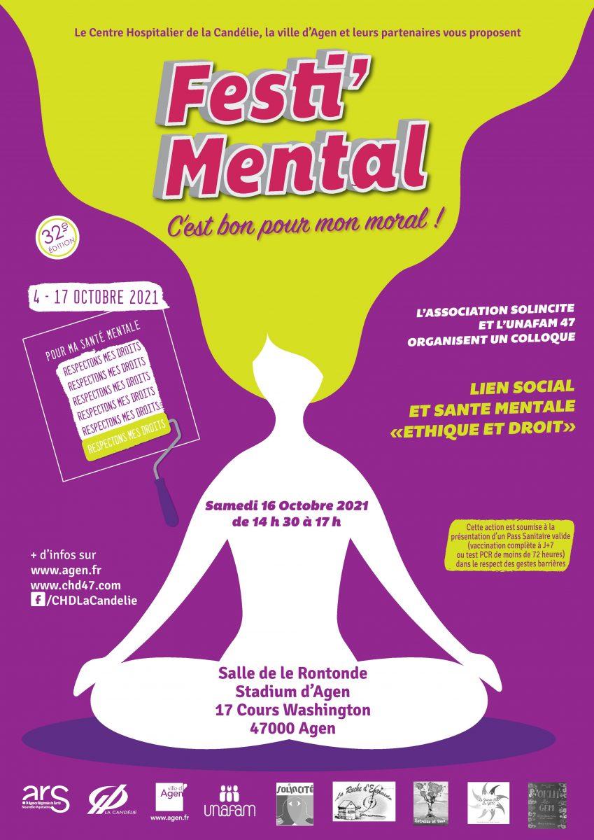 Festi'Mental 2021 – Du 4 au 17 octobre 2021
